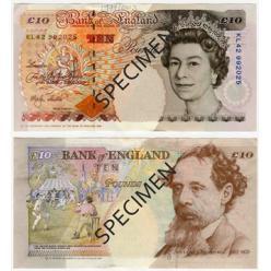 Через месяц Банк Англии намерен вывести из обращения одну купюру