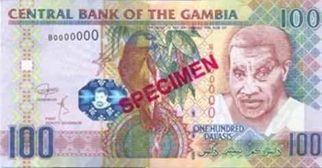 Новые банкноты появятся в денежном обращении Гамбии
