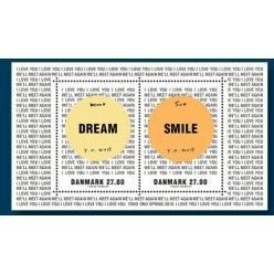 Выпущены новые датские марки с дизайном от вдовы Леннона
