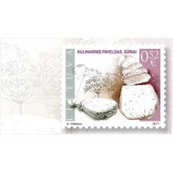 В Литве выпустили почтовую марку в честь сыра