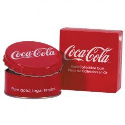 В Австралии отчеканили золотую монету Coca-Cola