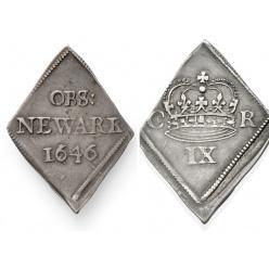 В Британии на торгах ушла с молотка монета времен гражданской войны XVII века