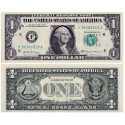 В США подтвердили обновление банкнот номиналом 1 доллар