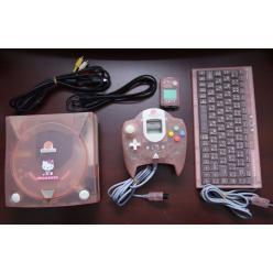На eBay попала игровая приставка из 90-ых Dreamcast Hellokitty