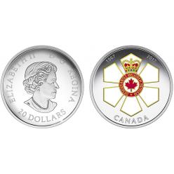 В Канаде выпустили монету в честь юбилея государственной награды
