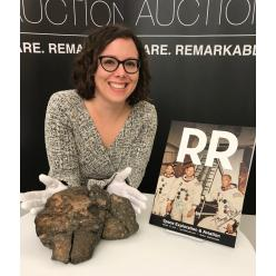 На торгах в США ушел с молотка за $ 612 500 лунный метеорит