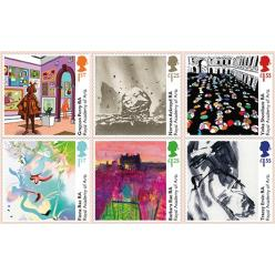 Великобритания представила марки с дизайнами художников Королевской академии искусств