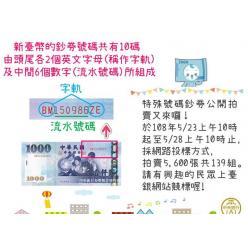 В Китае пройдет аукцион, где коллекционерам будут предложены банкноты со счастливыми серийными номерами