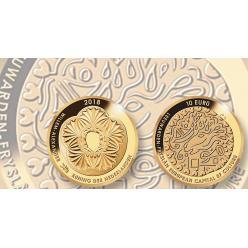 Нидерланды представили монету в честь Культурной столицы Европы