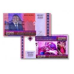 В Мадагаскаре вводятся банкноты нового образца