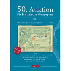 В Германии прошел аукцион антикварных ценных бумаг