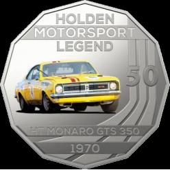 Австралія представила нову монету з серії «Легенди автоспорту»