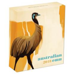 Австралия представила инвестиционные монеты с изображением птицы эму