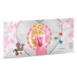 Серия банкнот «Принцессы Диснея» пополнились еще одной серебряной купюрой