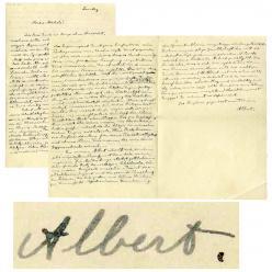 На аукцион выставлены письма Альберта Эйнштейна итальянскому инженеру Мишелю Бессо