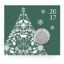 В Великобритании появилась рождественская монета