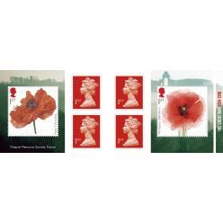 Пошта Великобританії представила серію марок, присвячених 100-річчю закінчення Першої світової війни