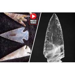 В Испании обнаружено древнее оружие из хрусталя, изготовленное, предположительно, 3500 лет до н.э.