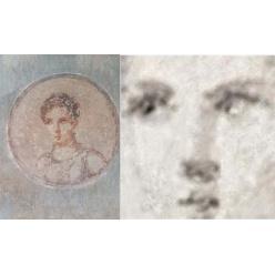 Исследователи с помощью рентгеновской аппаратуры увидели портрет жителя Помпей