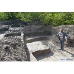 Недалеко от Днепра археологи раскопали древнее жильё