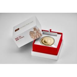 Нацбанк Польши анонсировал выпуск золотой юбилейной монеты