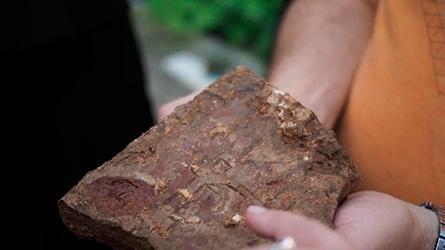В Полоцке обнаружен фрагмент строительного чертежа 12 века