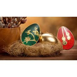 Компания CIT представила очередную монету из серии «Золотые яйца»