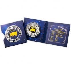 В Польше отчеканена монета-талисман с изображением свинки