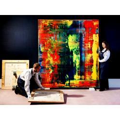 Суд оштрафовал немца, который пытался продать выброшенные художником Герхардом Рихтером эскизы