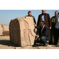 В Египте найдена стела с изображением фараона Рамсеса II