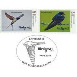 В Люксембурге представлен набор из двух марок