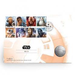 Роботу ВВ8 из «Звездных войн» посвящена новая монета
