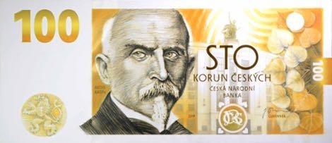Чешский банк представит банкноту к 100-летию чехословацкой валюты