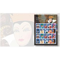 В США выпустят серию почтовых марок с диснеевскими злодеями