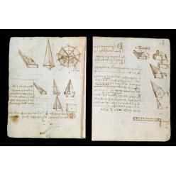 Дневники Леонардо да Винчи доступны для просмотра онлайн