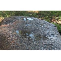 На Полтавщине обнаружили древнюю стелу со стопами бога Вишну