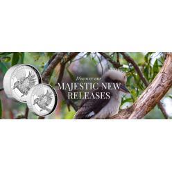 На новых монетах Австралии изображена птица кукабарра