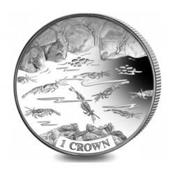 Монета, посвященная креветке-эндемику, отчеканена Pobjoy Mint