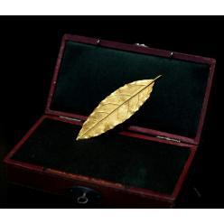 На аукционе за € 625 000 был продан золотой лист из короны Наполеона
