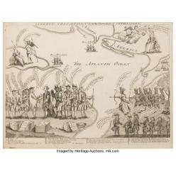 На торги в Далласе выставлена гравюра XVIII века