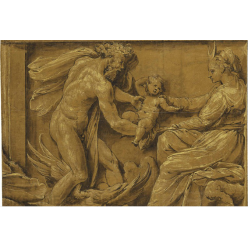 На аукцион Сhristie's выставлен рисунок ученика Рафаэля