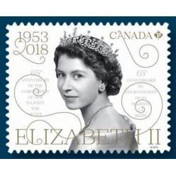 В Канаде анонсирован выпуск марки в честь начала правления Елизаветы II