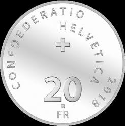 В Швейцарии представлена первая монета из юбилейной серии «Альпийские перевалы»