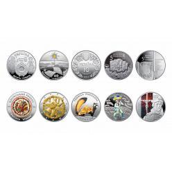 Нацбанк сообщил результаты первого этапа конкурса «Лучшая монета года Украины» за 2017 год
