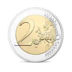 Во Франции выпущена монета с изображением василька