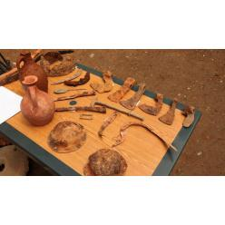 Археологи Грузии на территории древней крепости обнаружили предметы быта и оружия VІ века