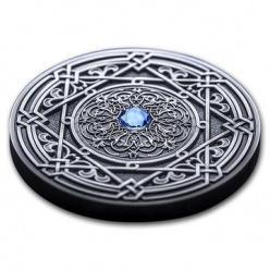 Остров Фиджи представил монету в виде модели Вселенной