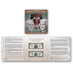 Стартовала продажа коллекционных банкнот «Отцы-основатели Америки 2018»