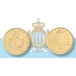 В Сан-Марино выпущена монета в честь мобильной связи 5G