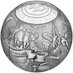Монетный двор Польши выпустил монету в форме шара